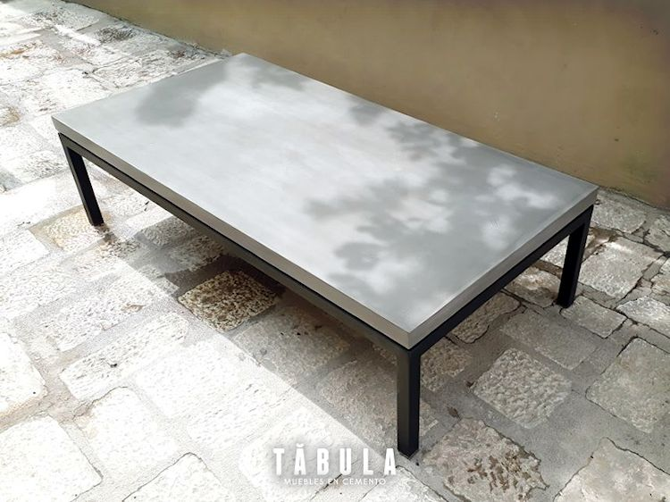 Tábula Muebles en cemento 1