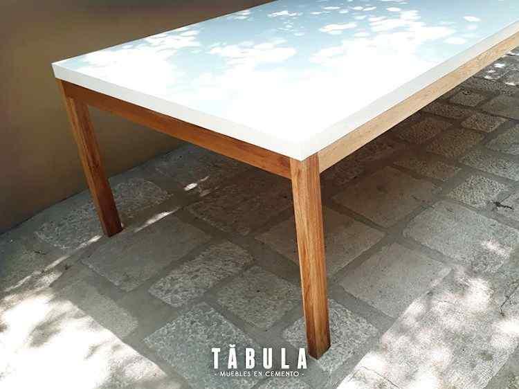 Tábula Muebles en cemento 2