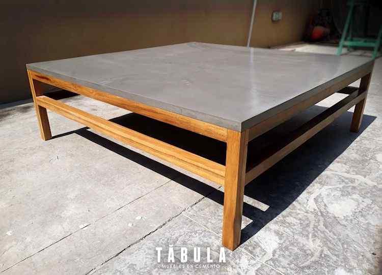 Tábula Muebles en cemento 3