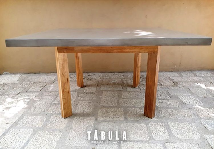 Tábula Muebles en cemento 4