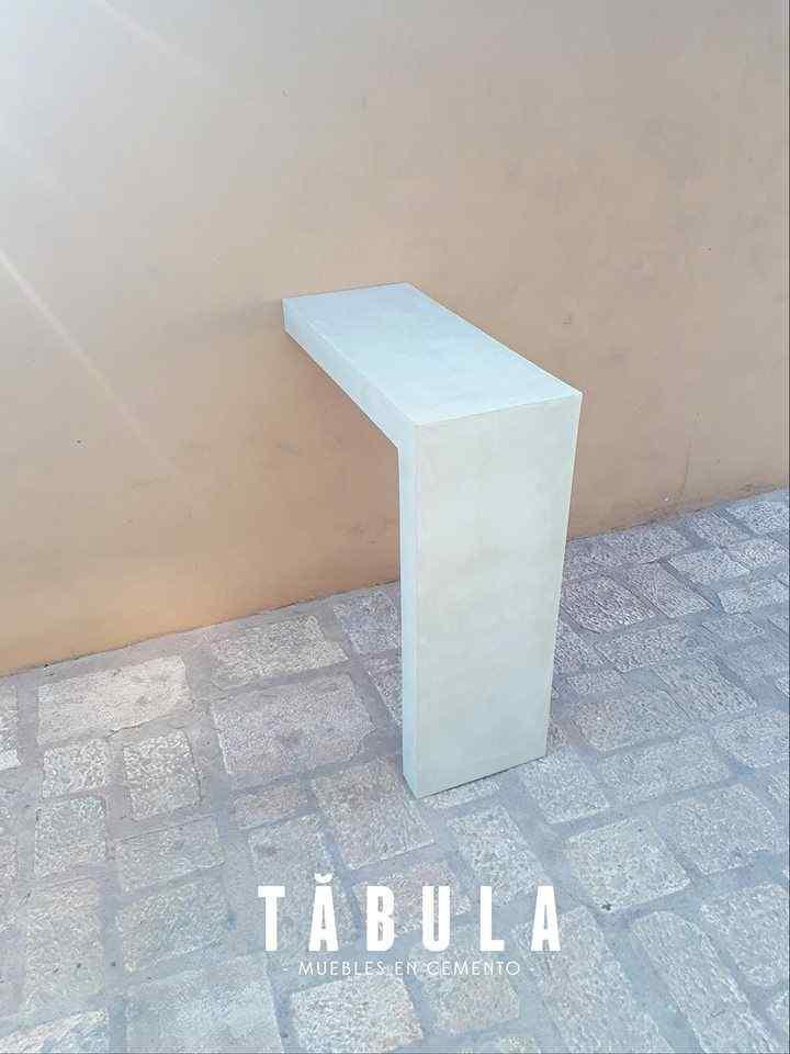 Tábula Muebles en cemento 9