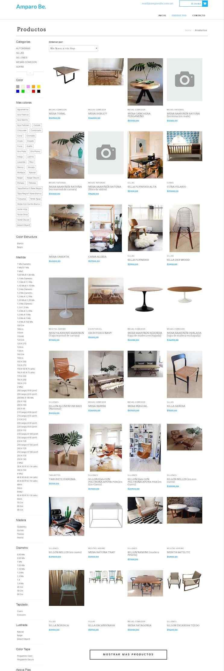 Ambaro Be Tienda online de muebles