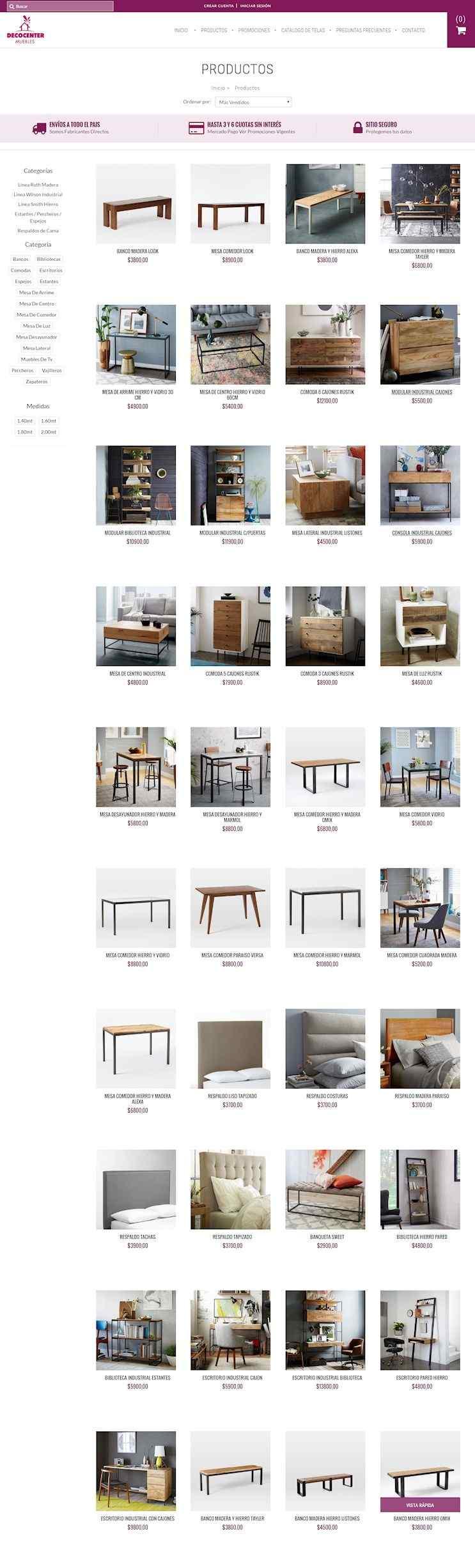 Rennovata Muebles Tienda Online
