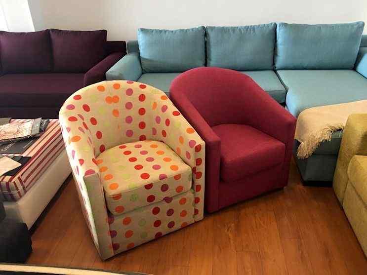 Stock permanente de sillones y entre inmediata