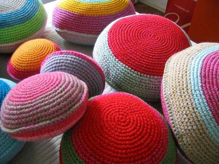 Puerta al Sur - Alfombras tejidas a crochet 10