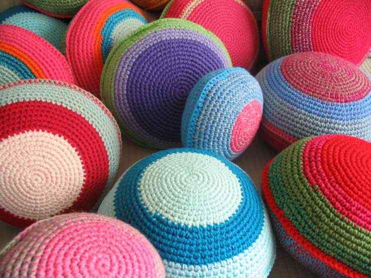 Puerta al Sur - Alfombras tejidas a crochet 11