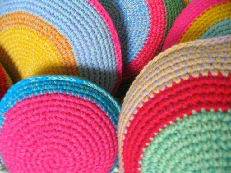 Puerta al Sur - Alfombras tejidas a crochet 12