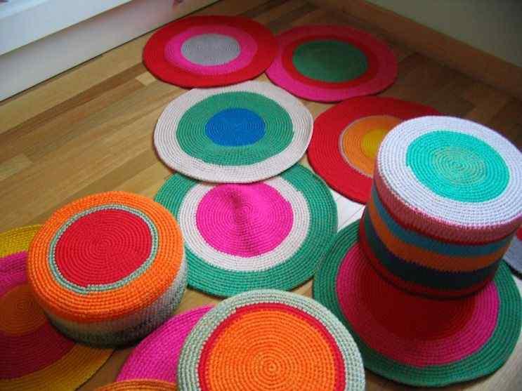 Puerta al Sur - Alfombras tejidas a crochet 13