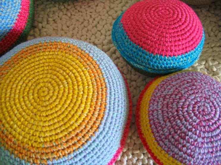 Puerta al Sur - Alfombras tejidas a crochet 3