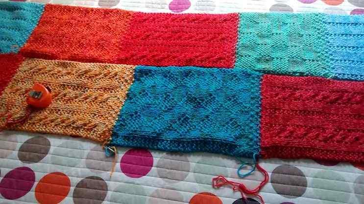 Puerta al Sur - Alfombras tejidas a crochet 4
