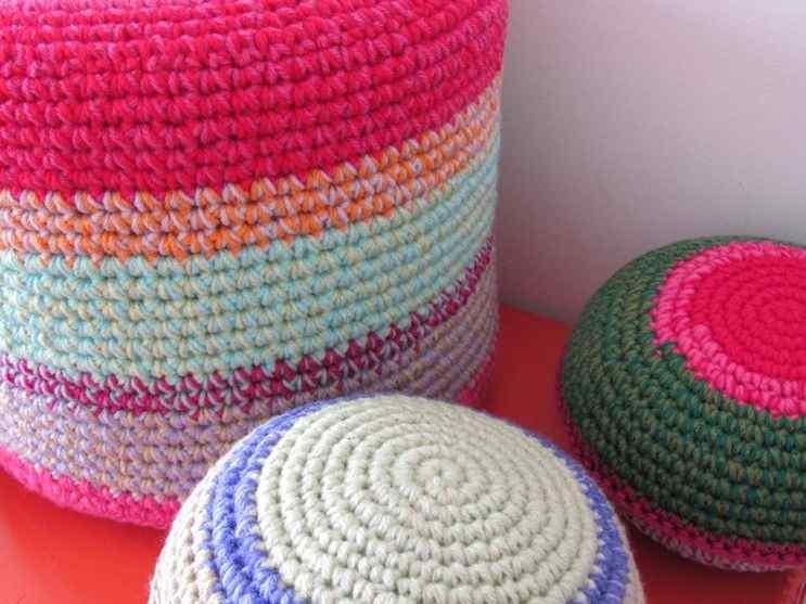 Puerta al Sur - Alfombras tejidas a crochet 6