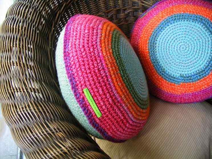 Puerta al Sur - Alfombras tejidas a crochet 7