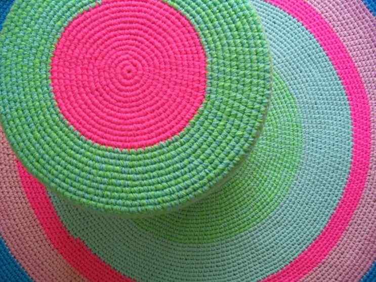 Puerta al Sur - Alfombras tejidas a crochet 8