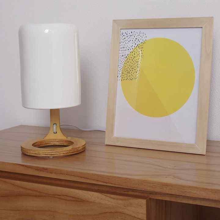 TRAMA - Lámparas, macetas y objetos en cerámica 1