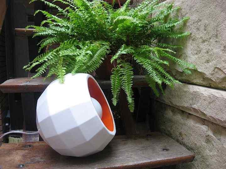 TRAMA - Lámparas, macetas y objetos en cerámica 5