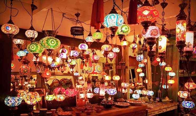 Tapsus deco l mparas turcas estilos deco for Curso de decoracion de interiores zona norte