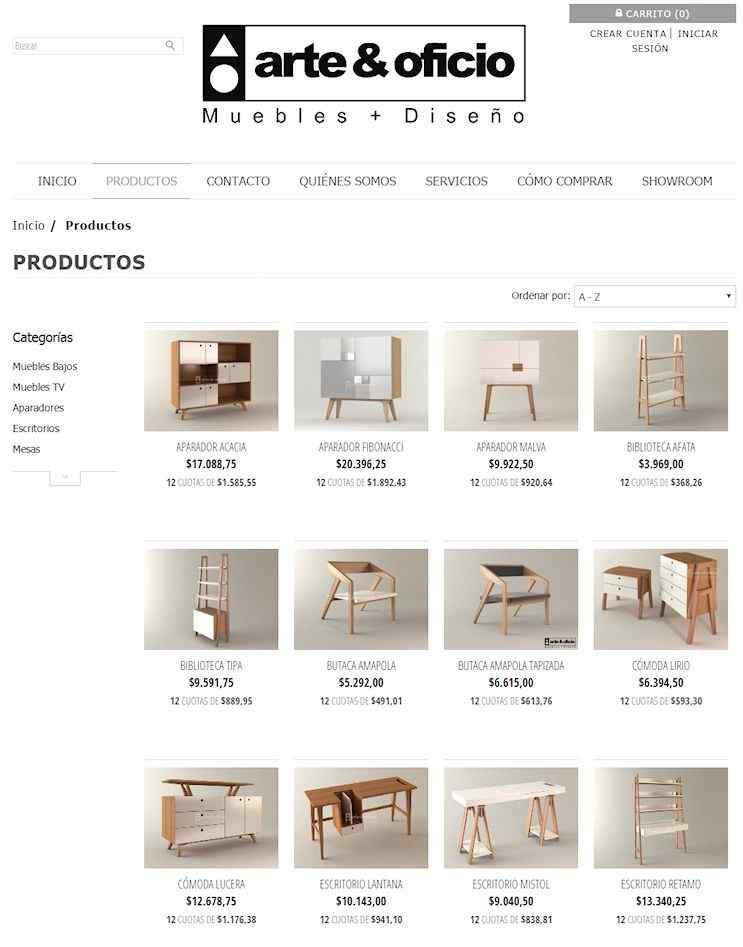 Ir a la tienda online de Arte & Oficio