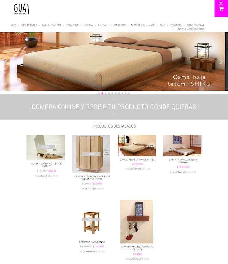 Tienda Online de TiendaGua!
