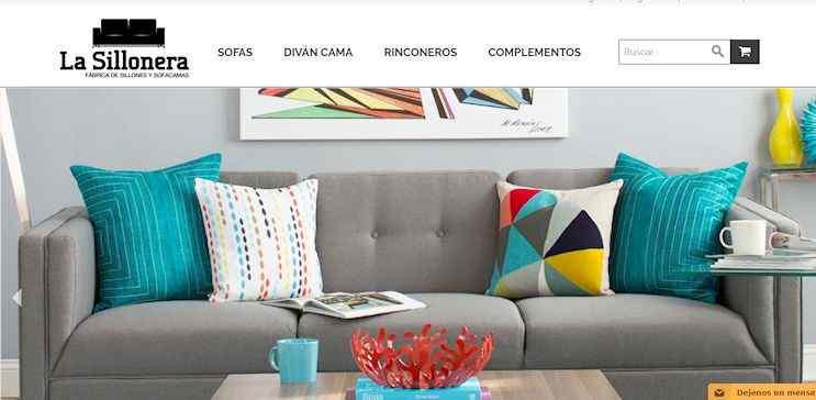 Tienda online de La Sillonera: venta de sofás camas, sofás, esquineros