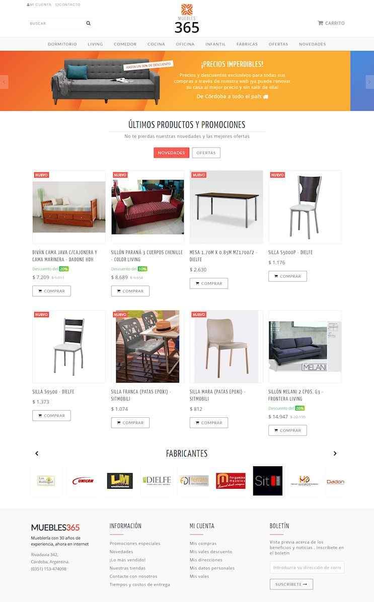 Muebles 365 en Córdoba