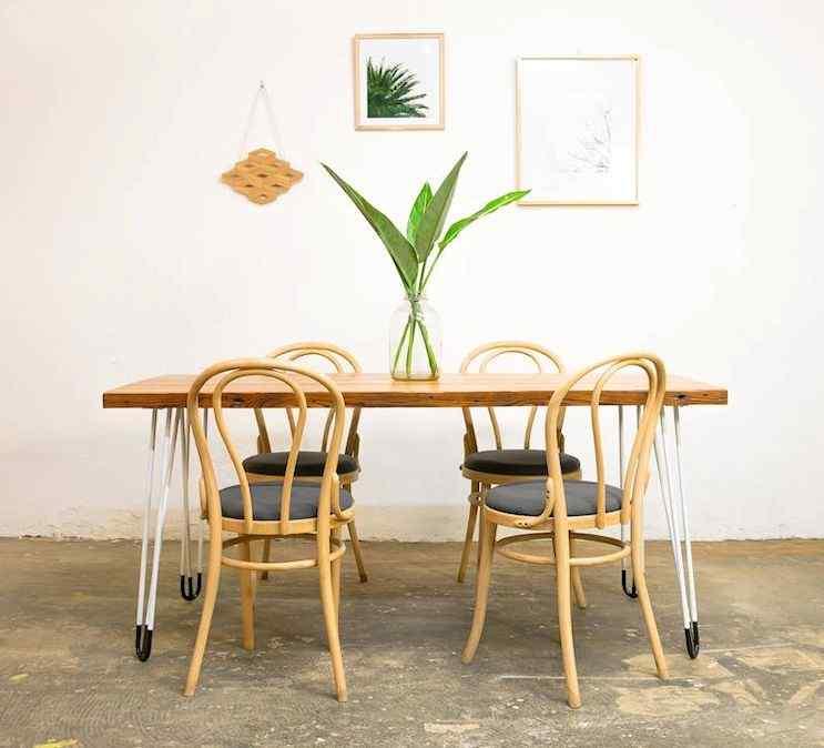 Toska - Muebles en hierro y madera reciclada de diseño contemporáneo 1