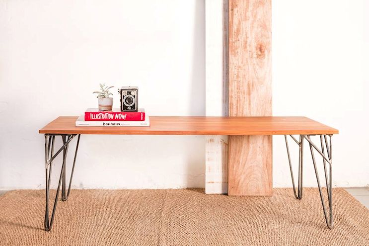 Toska - Muebles en hierro y madera reciclada de diseño contemporáneo 3