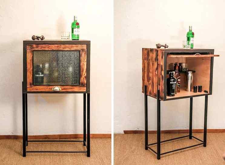 Toska - Muebles en hierro y madera reciclada de diseño contemporáneo 4