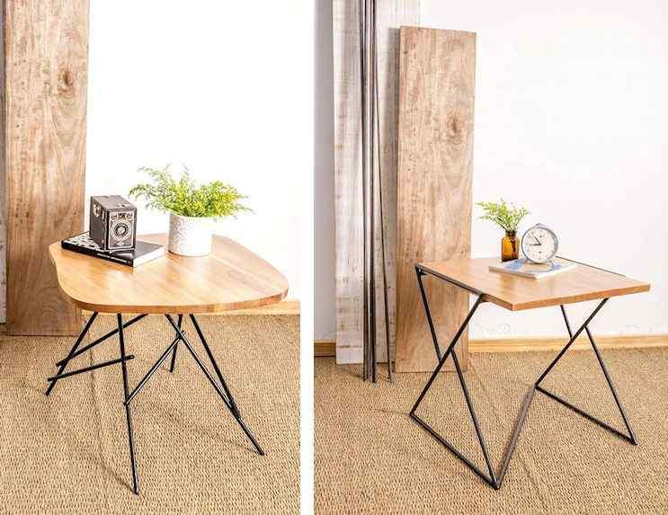 Toska - Muebles en hierro y madera reciclada de diseño contemporáneo 5