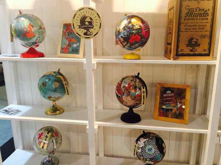 Don Mundo - Globos terráqueos y cuadros de mapas planisferios 1