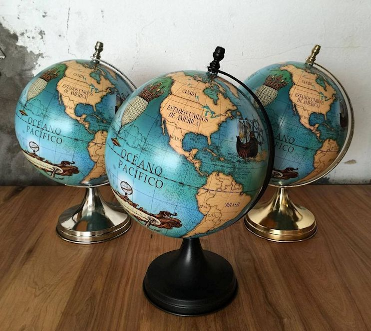 Don Mundo - Globos terráqueos y cuadros de mapas planisferios 2