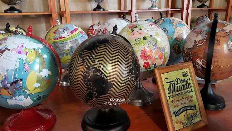 Don Mundo - Globos terráqueos y cuadros de mapas planisferios 3