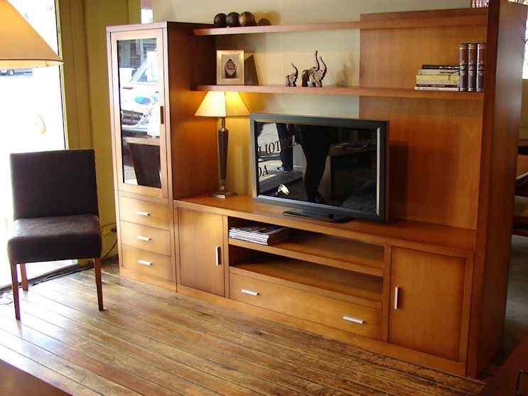 Muebles Nativa - Bibliotecas y muebles para la TV de estilo
