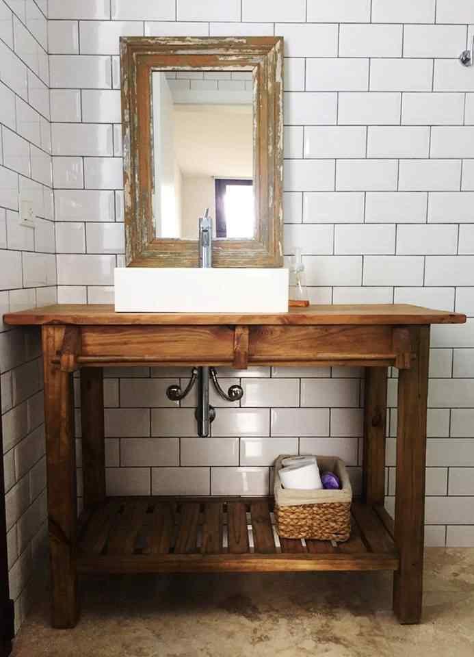 Antigua Madera - Muebles rústicos de madera reciclada 11