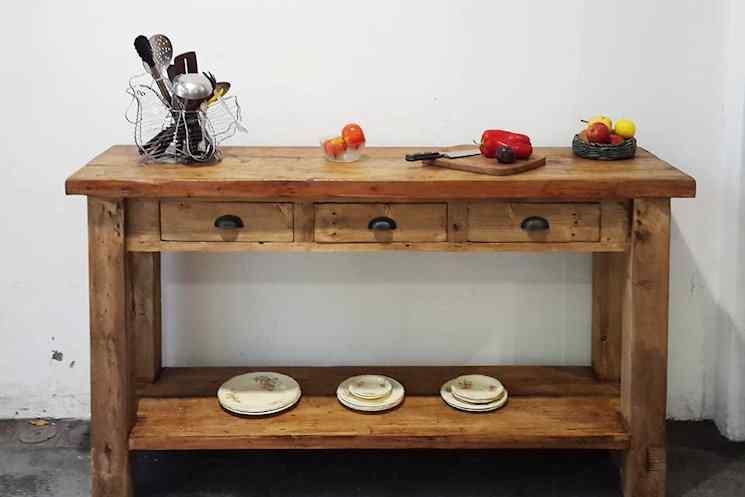 Antigua Madera - Muebles rústicos de madera reciclada 5