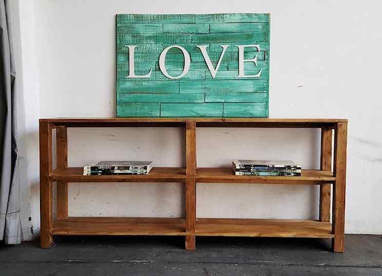 Antigua Madera - Muebles rústicos de madera reciclada 6