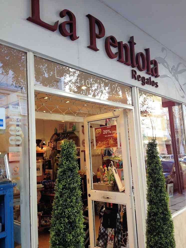 La Pentola Regalos en Recoleta